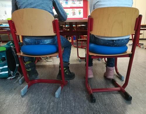 Neckarschule Aldingen - Beitrag Wackelkissen