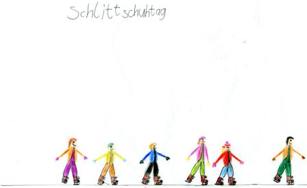 Neckarschule Eislauftag